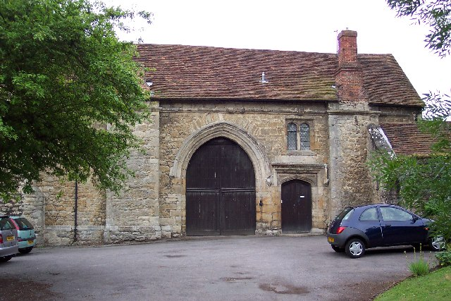 Abbey gatehouse, West Malling, Kent