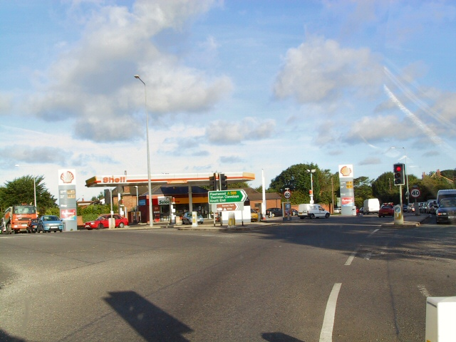 Intersection at Little Singleton