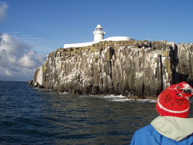 Lighthouse on Inner Farne