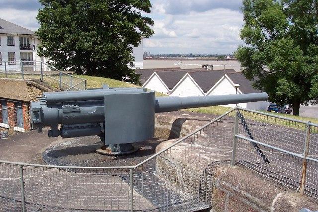 New Tavern Fort, Gravesend, Kent