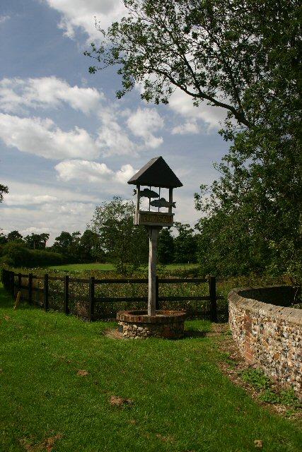 Village sign, Herringswell