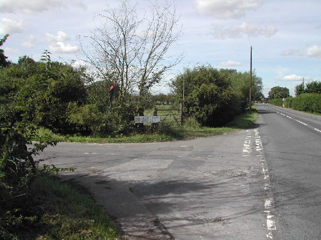 Junction Allesford Lane/Mansfield Road