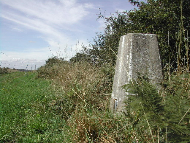 Trig Point on Baulker Lane