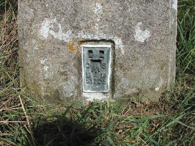 Flush Bracket, Baulker Ln Trig Point