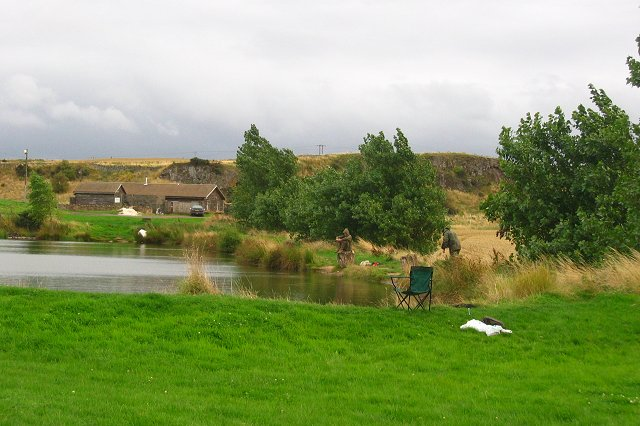 Trout fishery, Markle