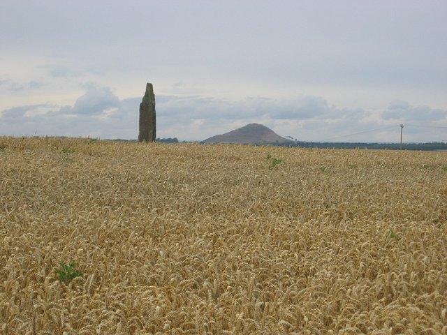 Standing Stone, Pencraig Brae.