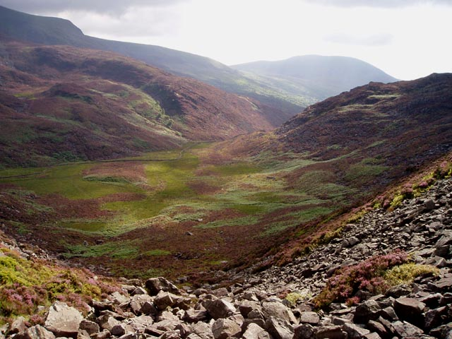 Cwm on the south side of Rhinog Fawr