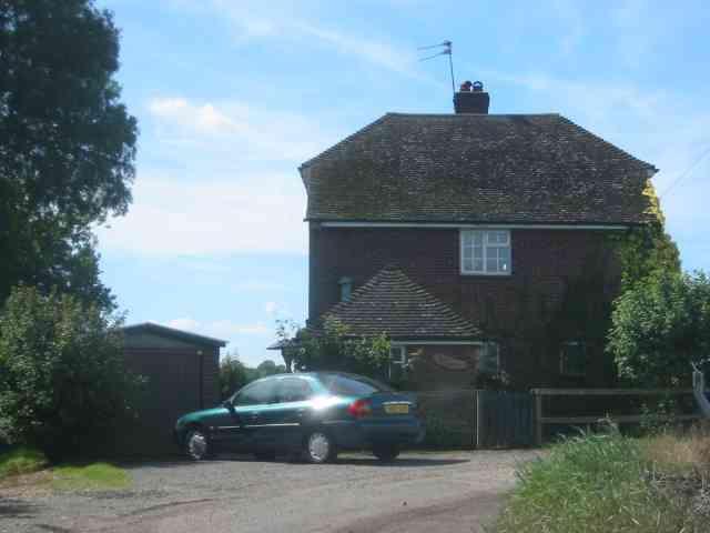 House at Gate to Dane End Farm