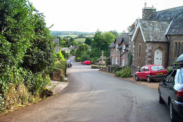 Ashprington village