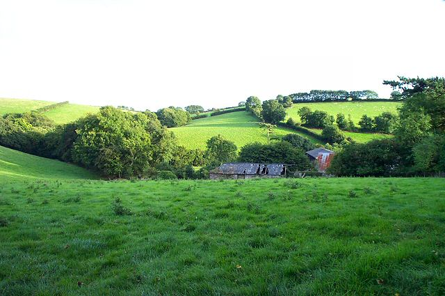South Hams farmland