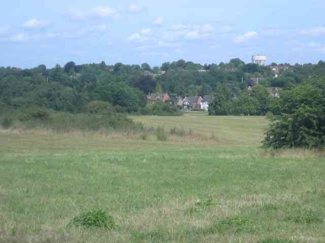 Harpenden Common towards the town