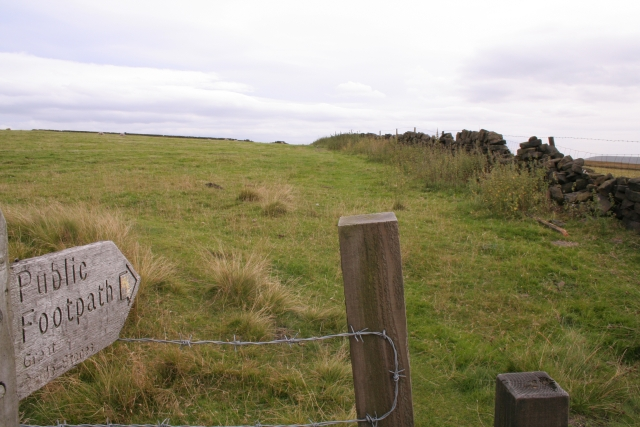 Footpath to Great Bride Stones