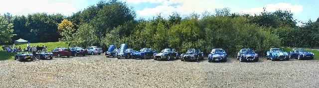 Car Park at Barnsdale, Rutland Water