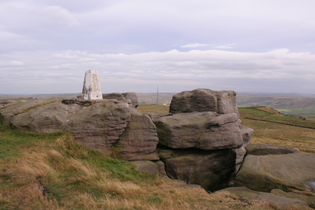Trig point, Great Bride Stones