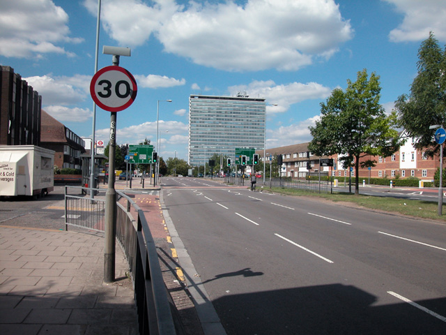 Tolworth roundabout