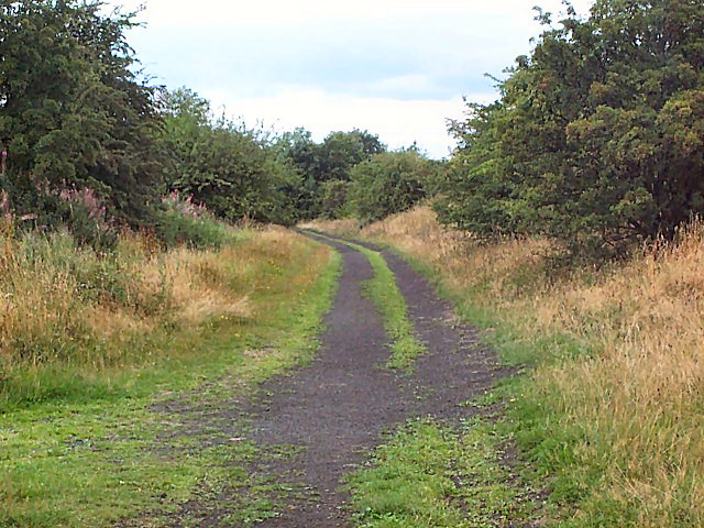 Trackbed of former Otley-Pool railway