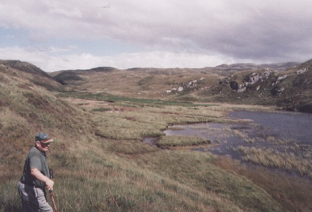 Loch alt nan Ramh and glen