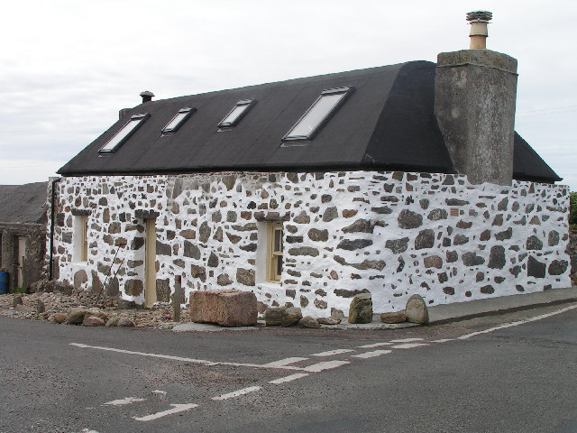 Restored Tiree 'spotted' house