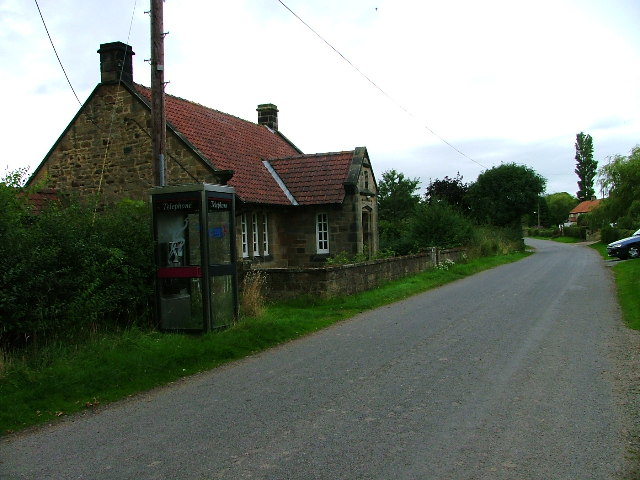Thimbleby Reading Room And Telephone Box