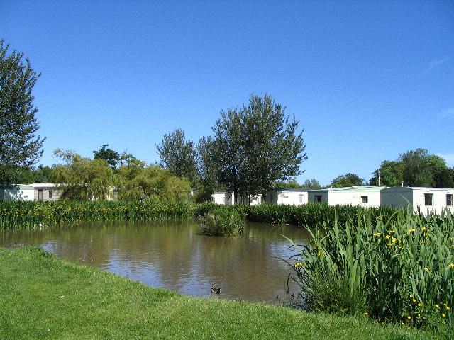 Haggerston Castle Pond
