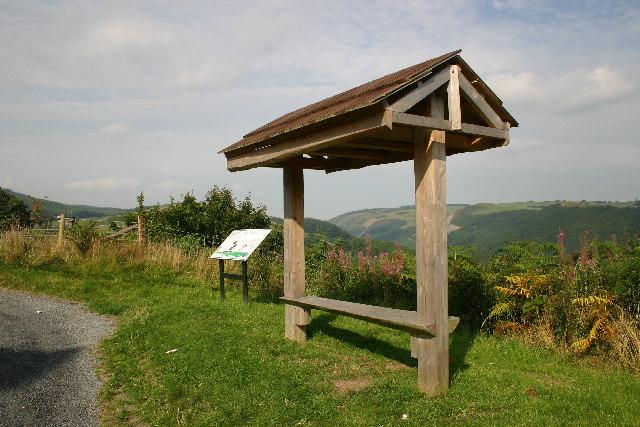 Ysbyty Ystwyth, Information Panel