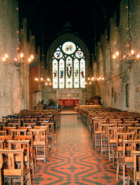 Magdalen College School, Brackley, Northants - the chapel