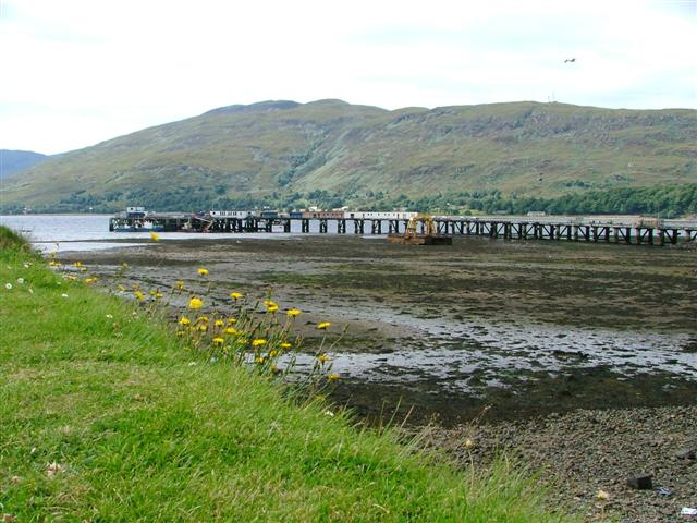 Pier from the Old Fort