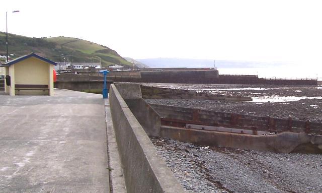 Aberaeron North beach