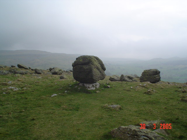 ...yet more Norber Erratics.