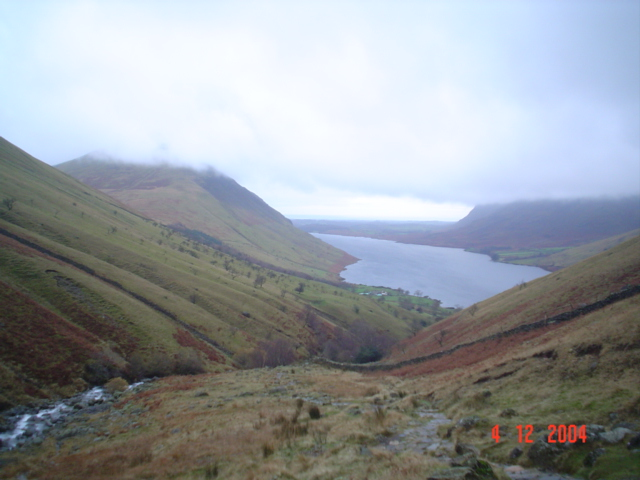 Wastwater from Lingmell Gill.
