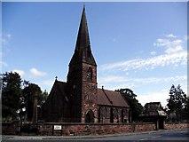 SJ4283 : All Saints Church by Steven Wignall