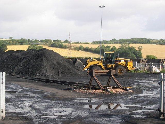Coal loading depot, Inverkeithing