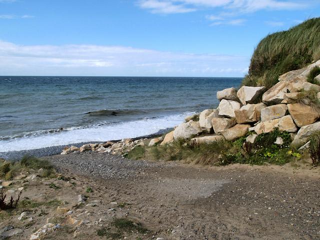 Sartfield beach.  Isle of Man.