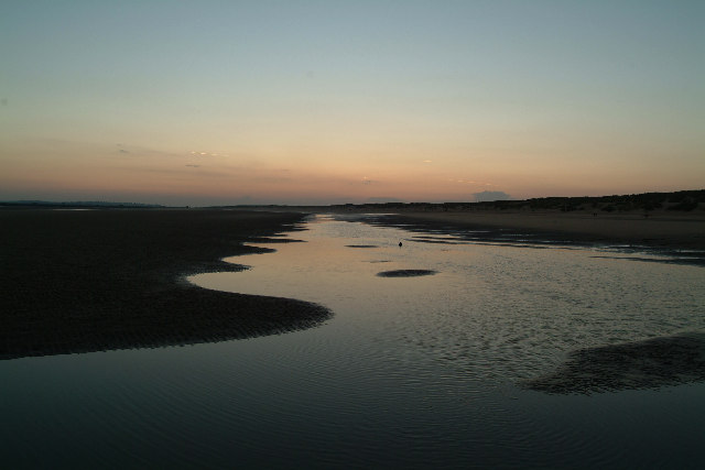 Camber low tide