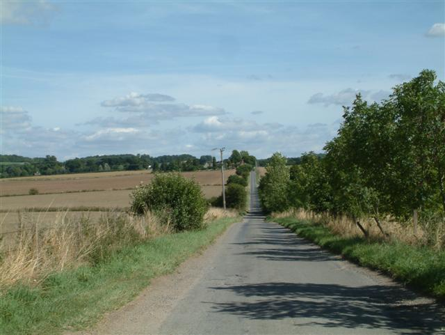 The Road to Ipsden Church