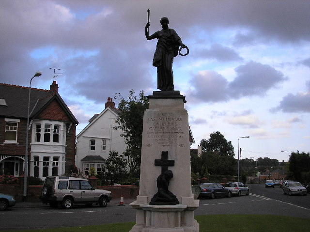 War memorial, Radyr, Cardiff