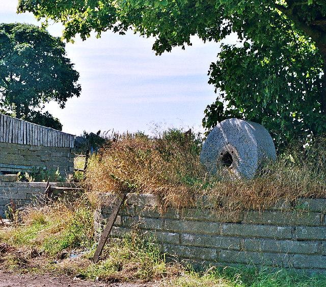 Millstone at Ramsgreave Hall Farm