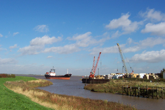 Barrow Haven - Timber Wharf