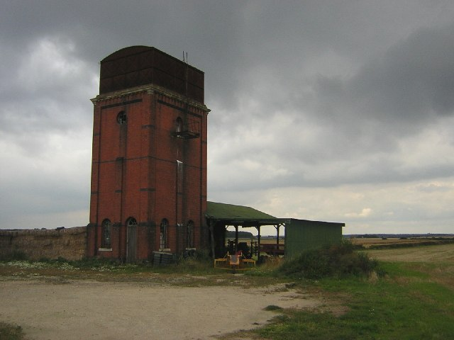 Disused water tower, Abbey Road, Bardney, Lincs.