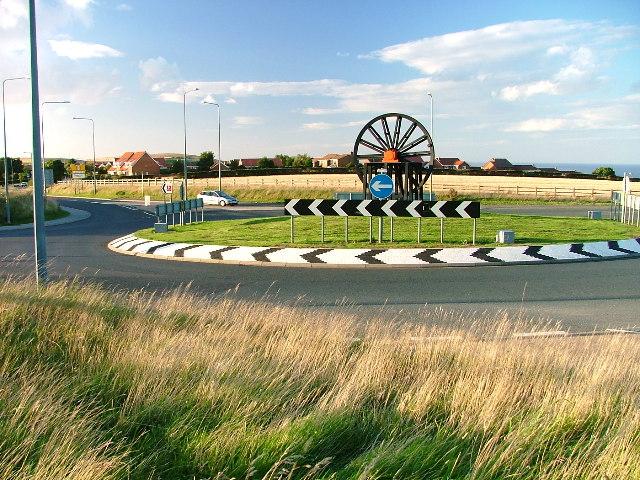 Kilton Lane Roundabout, A174