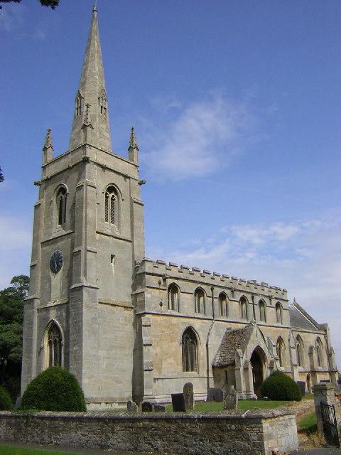 St.Denis' church, Aswarby, Lincs.