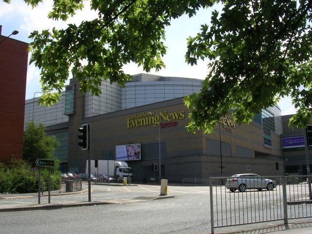 MEN Arena, Manchester.