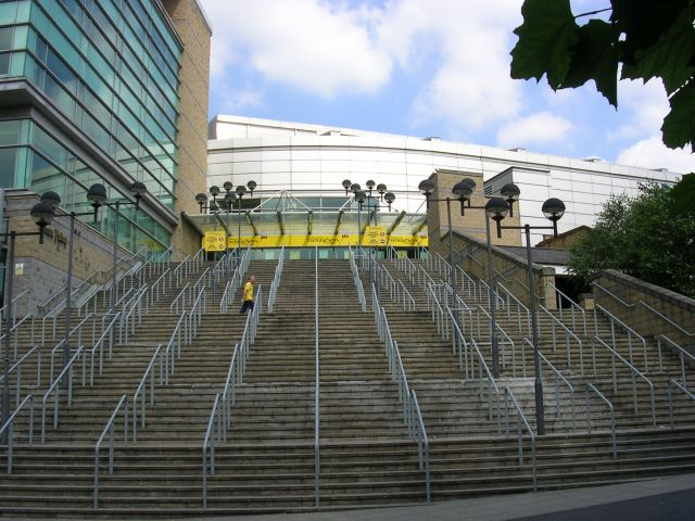 Steps to the MEN Arena