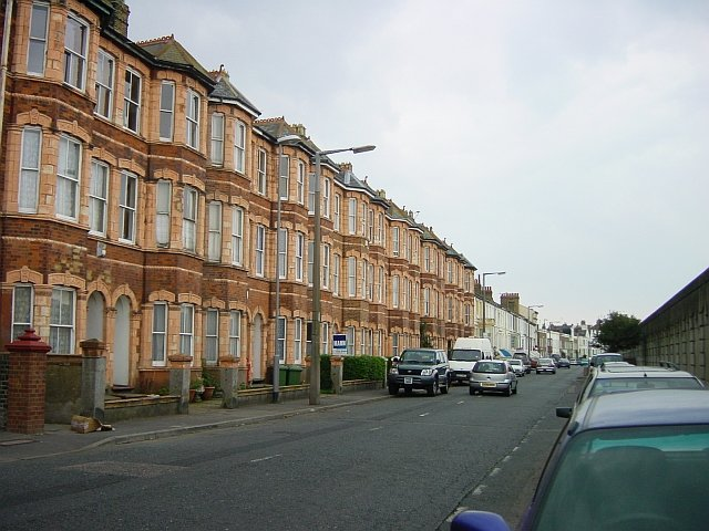 Terraced houses on Marine Parade, Sheerness
