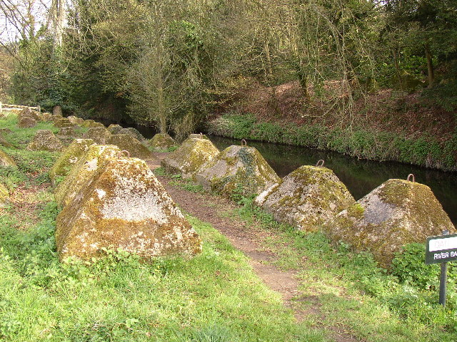 Waverley Abbey Tank Traps