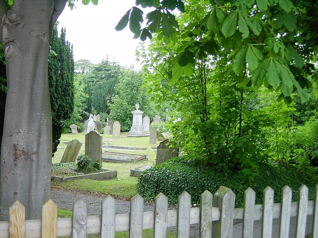 Cemetery at Halfway Houses