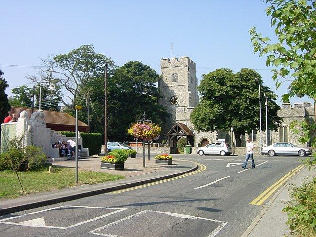 All Saints church, Eastchurch
