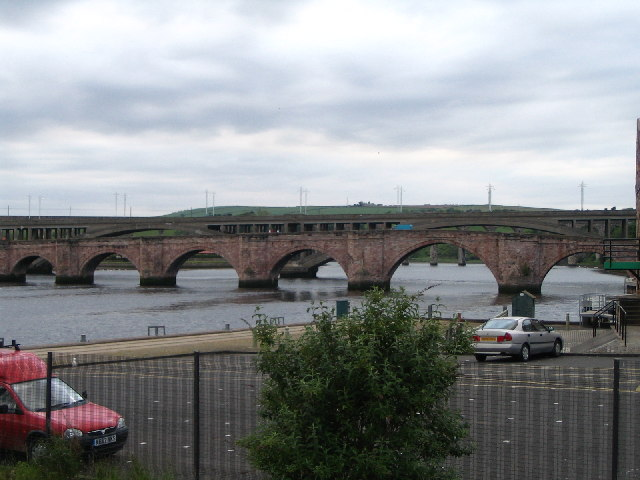 Berwick-On-Tweed Bridges