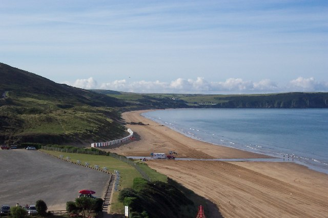 Woolacombe Sand, early morning