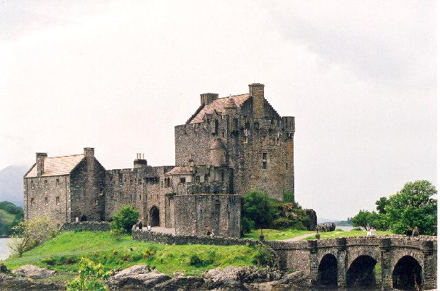 Eilean Donan Castle on Loch Duich, West Highlands
